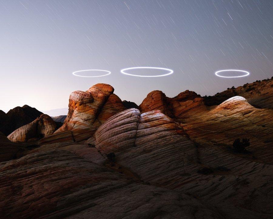 """Fotografía de """"Light Storm"""" por Reuben Wu"""