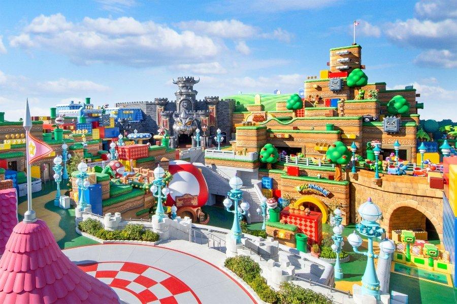 Diseño virtual de Super Nintendo World