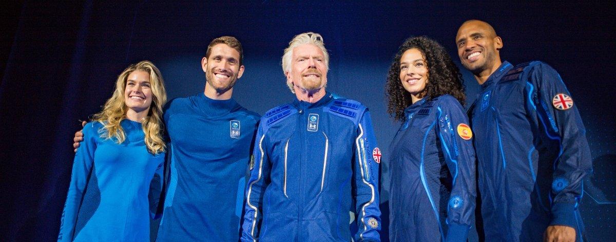 Under Armour y Virgin preparan trajes espaciales