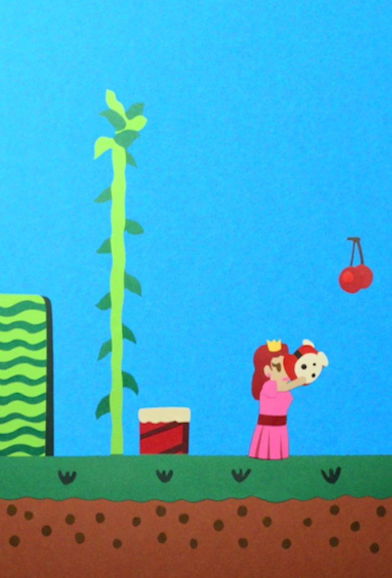 Videojuegos animados con papel por Eric Power