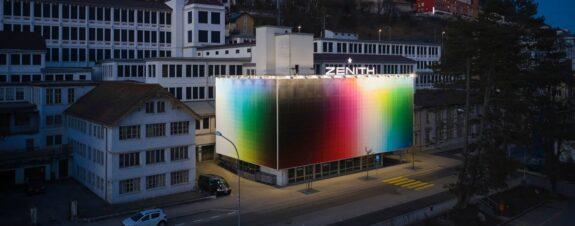 Zenith y Felipe Pantone intervienen fachada en Suiza