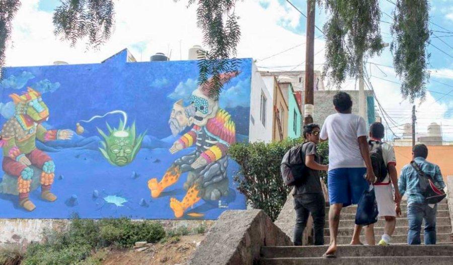 Ciudad Mural, festival de arte urbano en Zacatecas