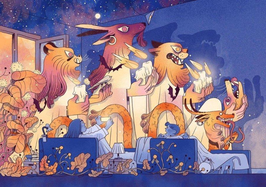 Ilustración por Núria Tamarit