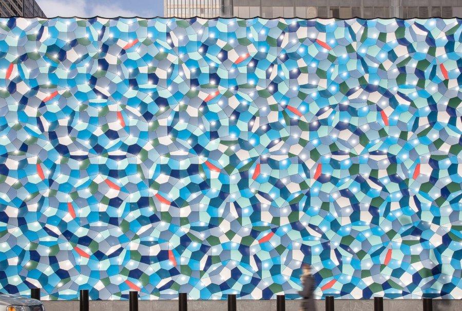 Atmospheric Wave Wall, nueva instalación de Olafur Eliasson