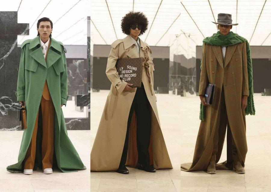 Pasarela de la temporada SS21 de Louis Vuitton