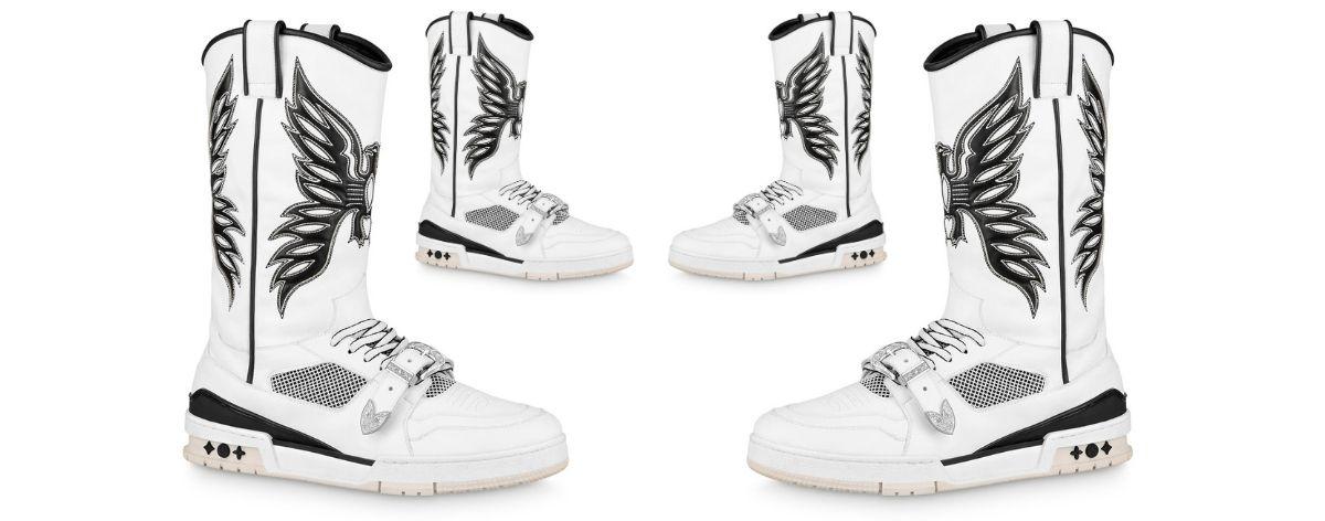 Botas trainer de Louis Vuitton inspiradas en el wéstern