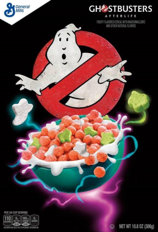 Aspecto del nuevo cereal de Ghostbusters