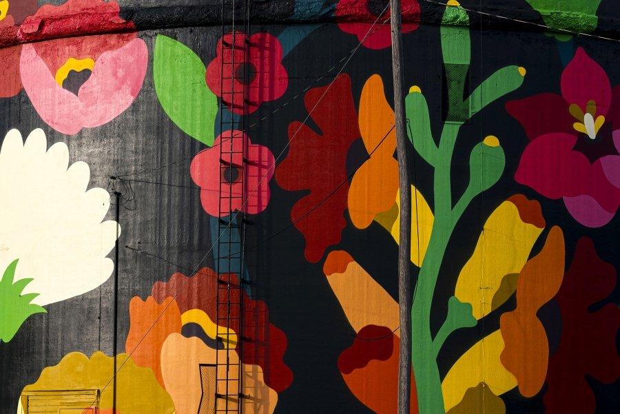"Mural ""Magic Unity"""