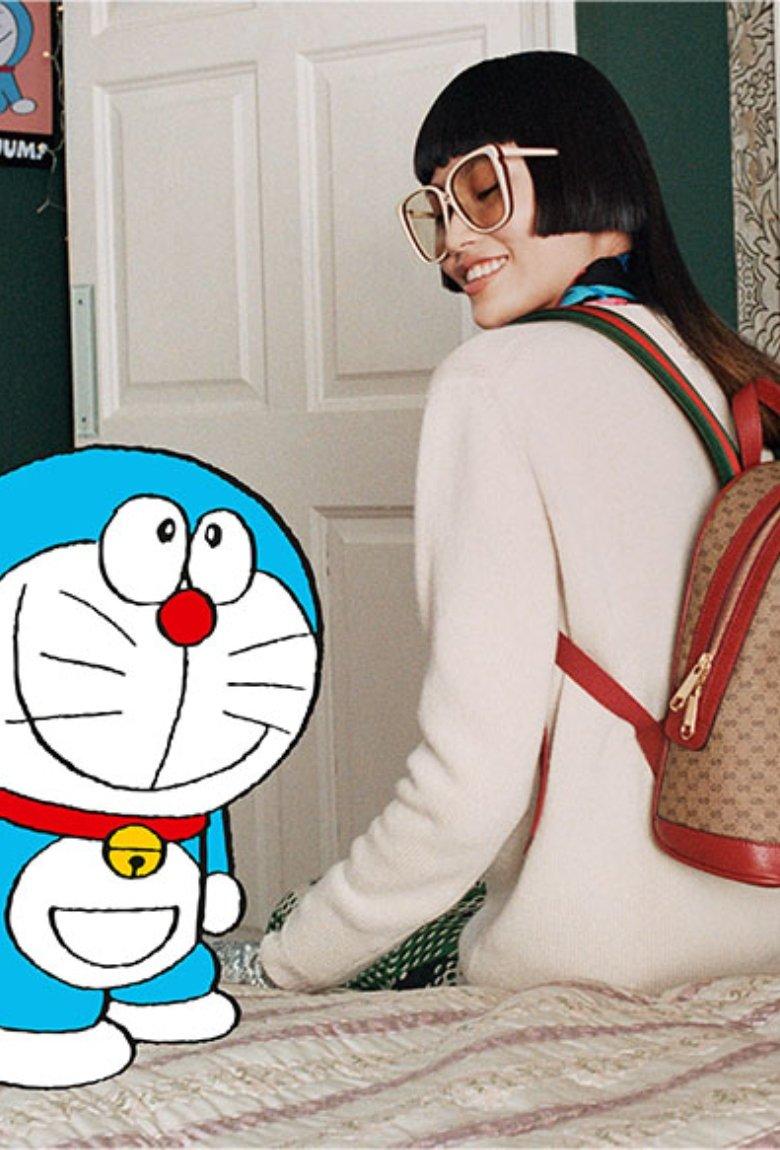Doraemon y Gucci celebran el Año Nuevo chino