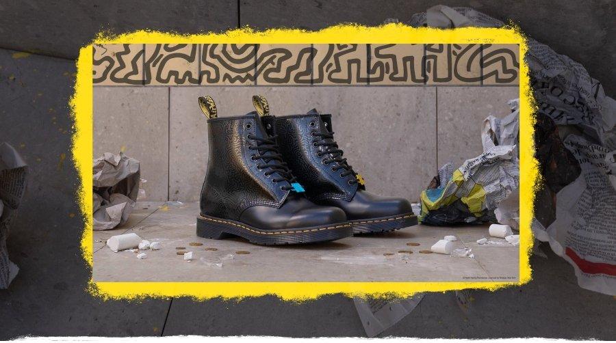 Dr. Martens lanza colaboración con Keith Haring