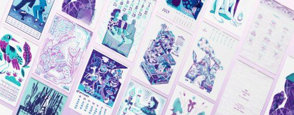 El Calendario Risográfico, una colaboración México-Japón
