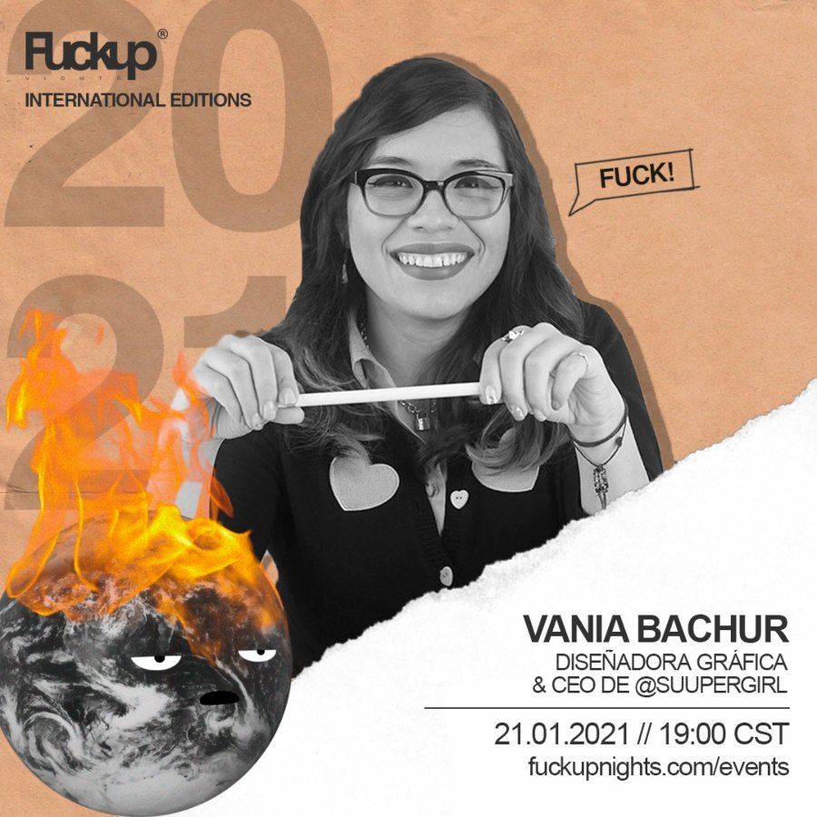 Fuckup Nights presenta a Vania