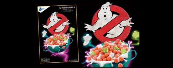 Cereal de Ghostbusters llega con la nueva película
