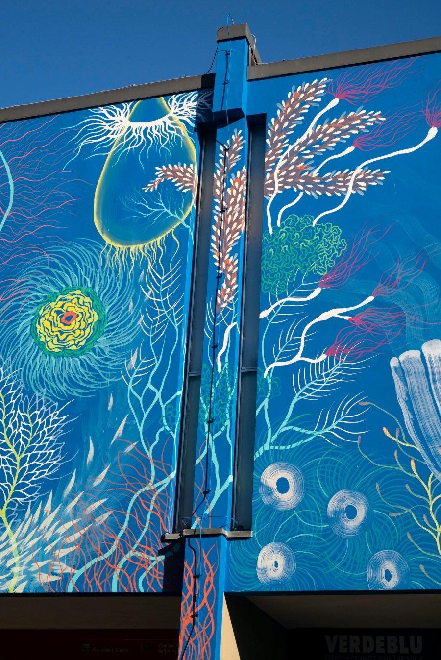 """Mural de Gola Hundun """"Reckless Ations Effects"""""""