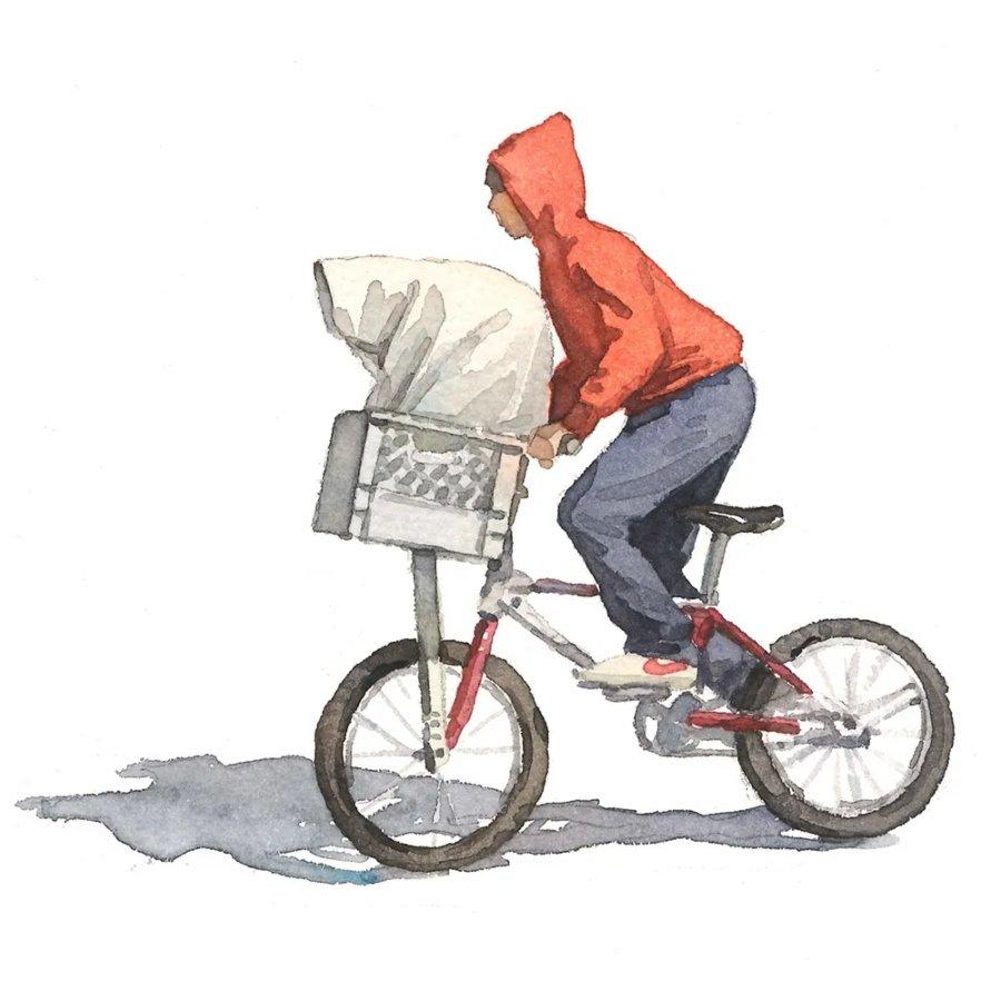 Ilustración de goodhood para su colección de E.T