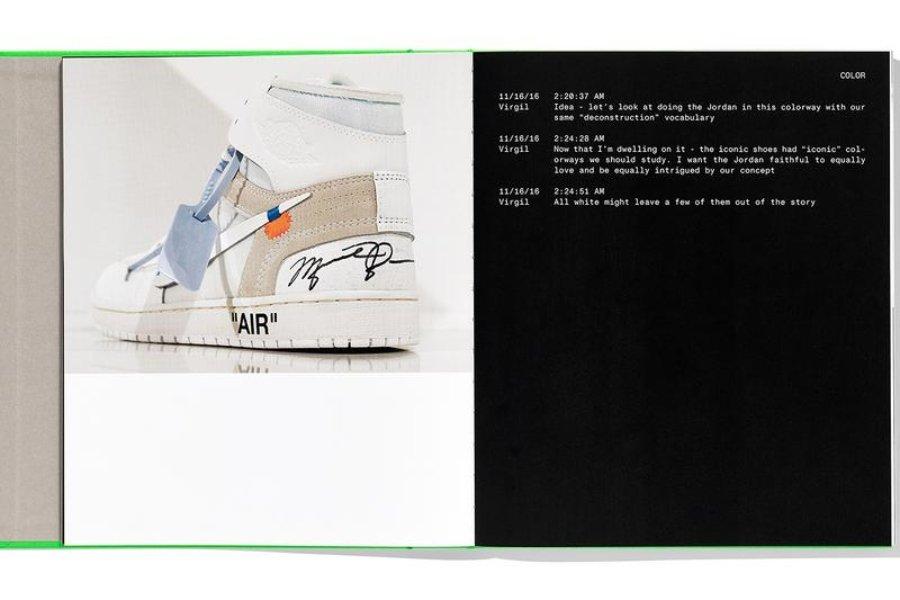 Libro de Nike y Virgil Abloh
