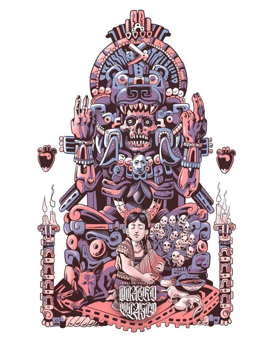 Ilustración de Dracko Velasco