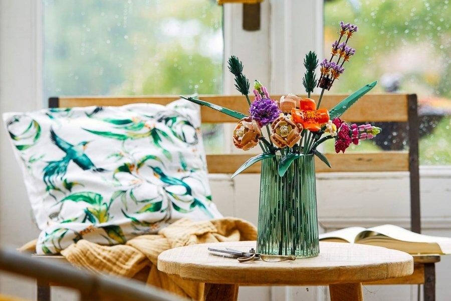 Set de ramo de flores de lego