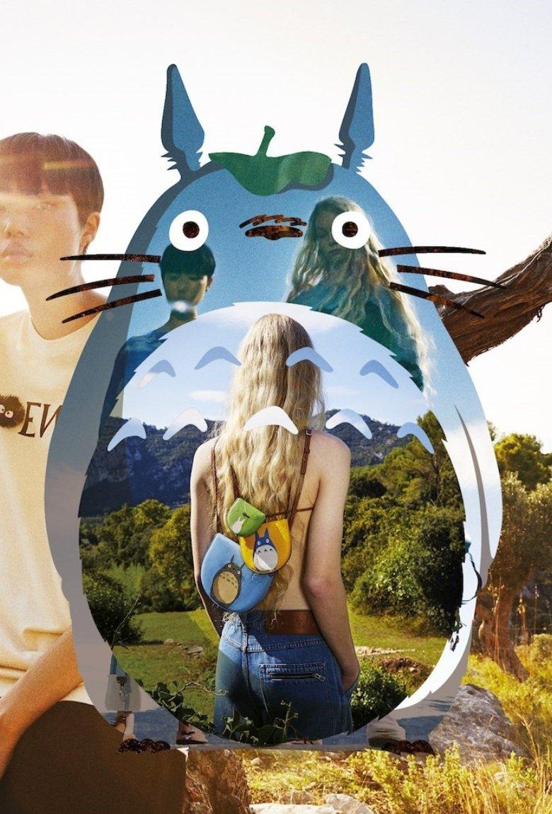 Leowe y Mi vecino Totoro con nuevos bolsos de lujo