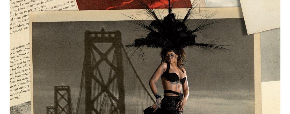 Lorna Simpson y Rihanna con collages mágicos