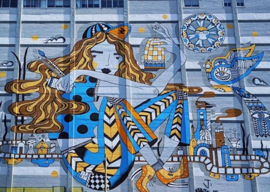 Mural de Ola Volo