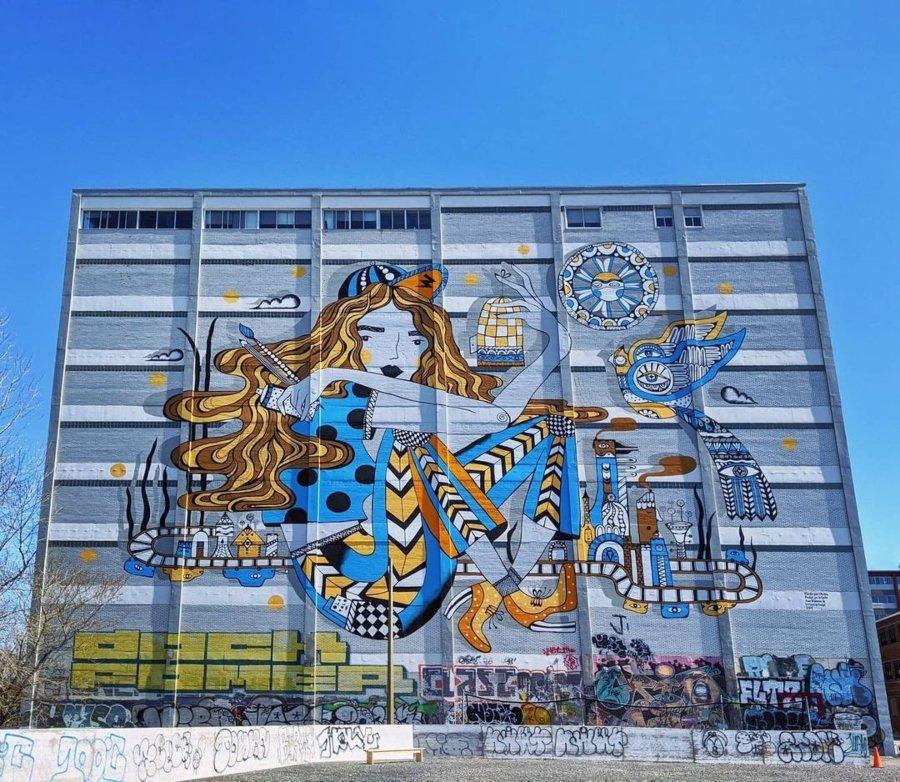 Los murales del mes de enero por Ola Volo