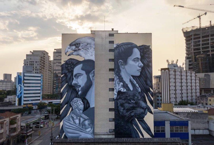 """Mural """"Agora"""""""
