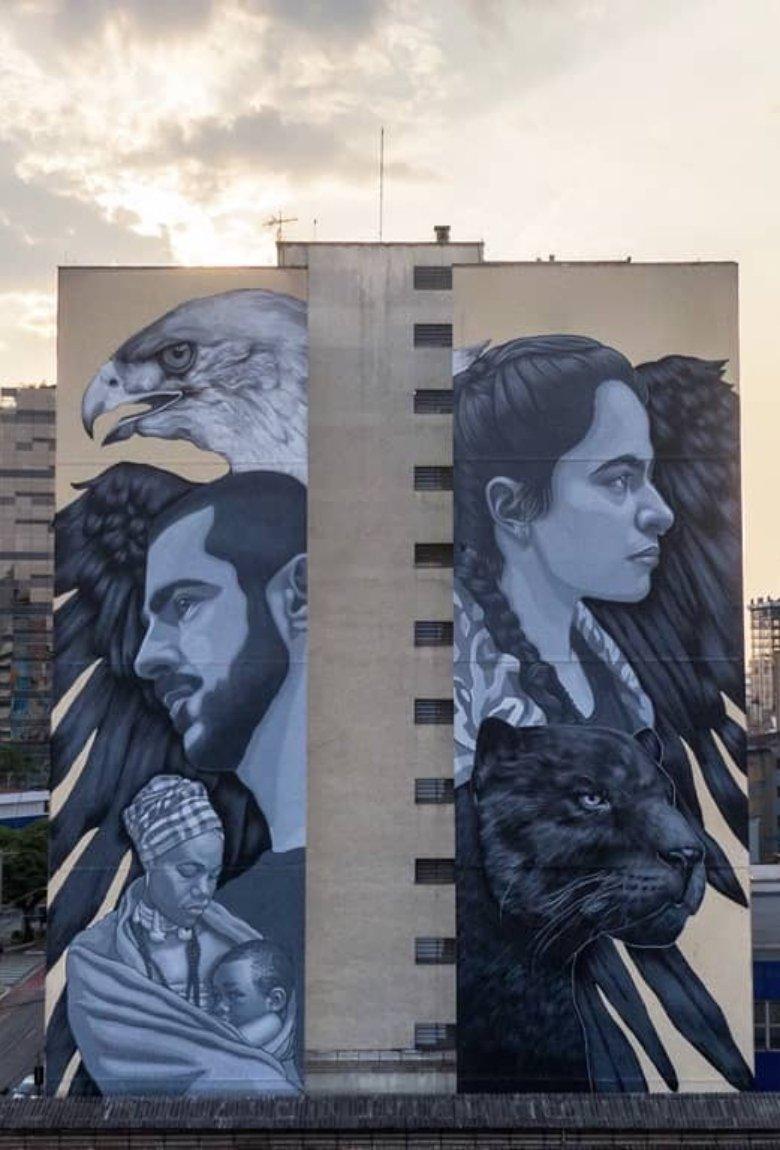 Los mejores murales de enero según All City Canvas