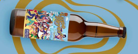 Lupe Reyes, cerveza de edición especial por Mr. Kone y Miky Huidobro