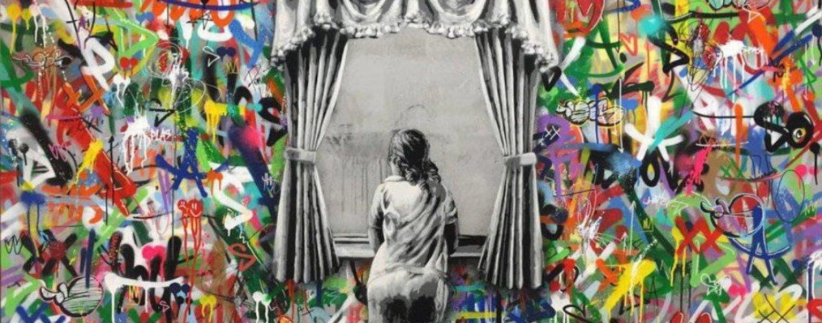 Martin Whatson: esténcil y graffiti de conciencia social