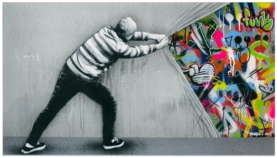 Street art por Martin Whatson