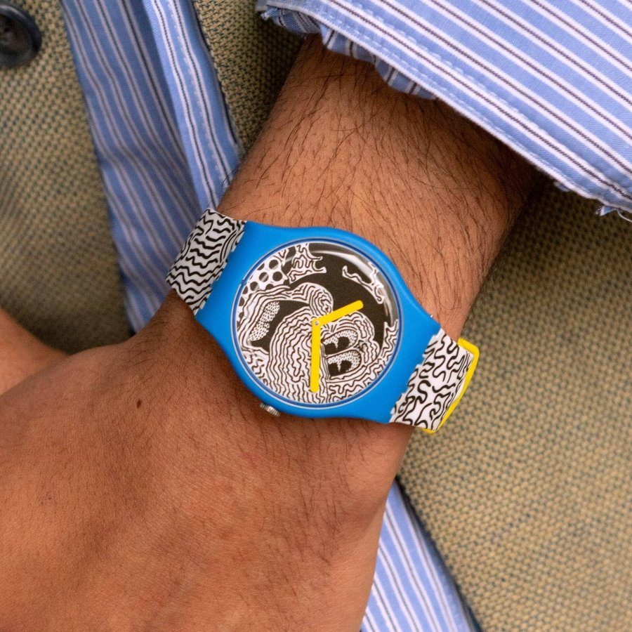 Nuevos relojes de Swatch con Keith Haring y Mickey Mouse
