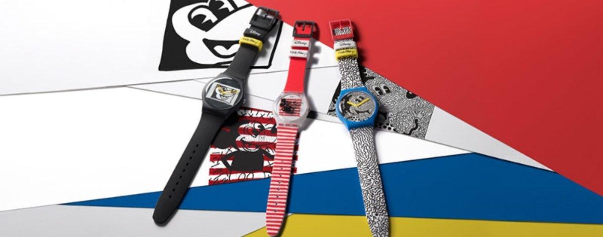Mickey Mouse, Keith Haring y Swatch con nuevos relojes