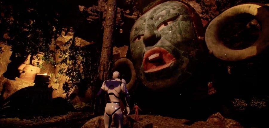 "Escena de ""Mictlan: An Ancient Mythical Tale"""