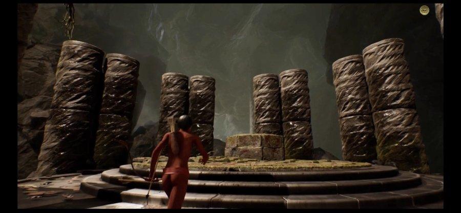 Escena del nuevo videojuego de Guillermo Alarcón