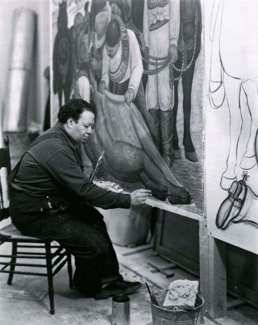 Retrato de Diego Rivera