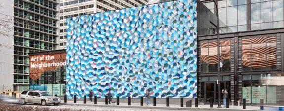 Atmospheric Wave Wall, la nueva instalación de Olafur Eliasson