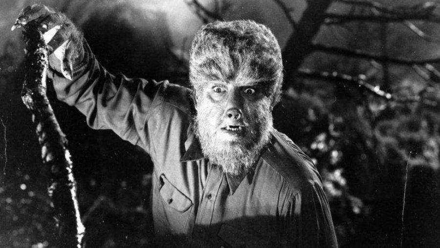 Escena del Hombre Lobo, película clásica de terror