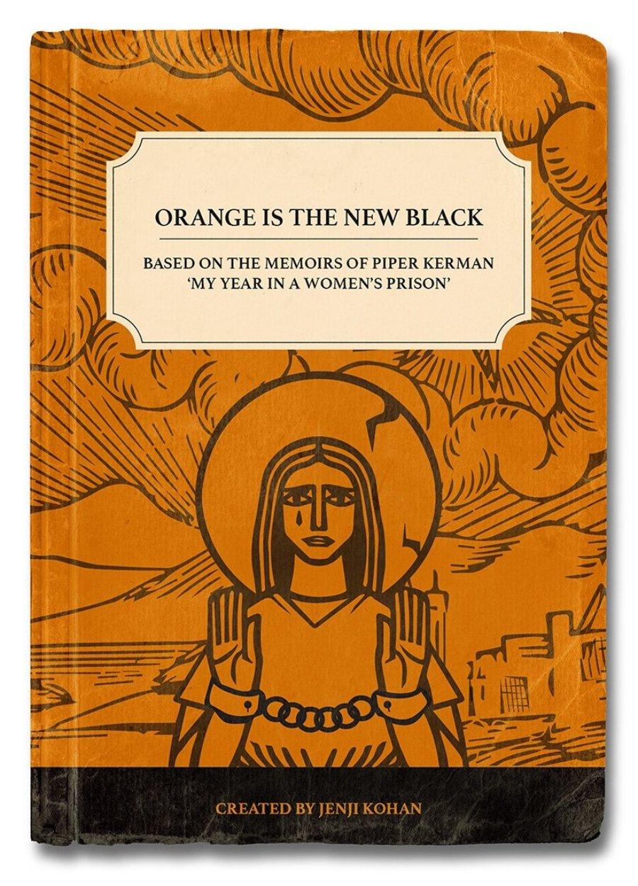 """Ilustración de """"The Orange is the New Black"""""""