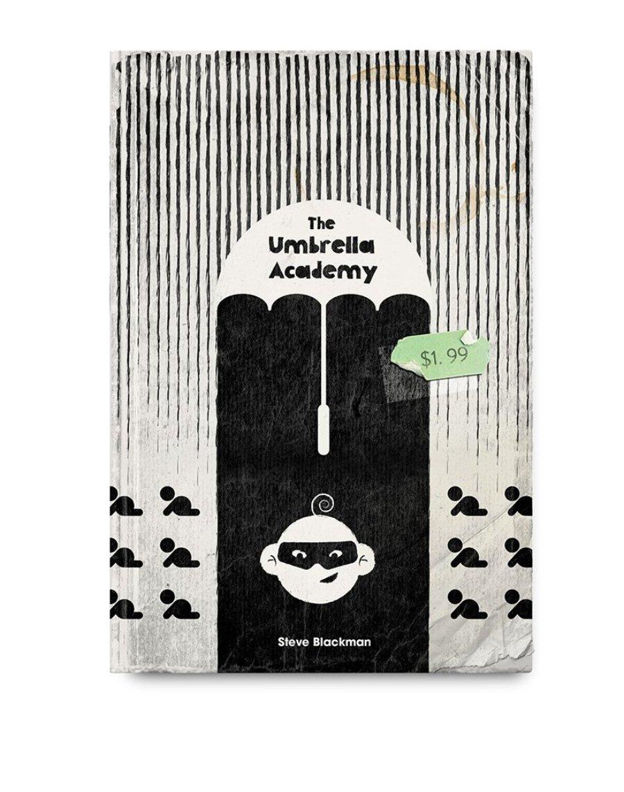 """Ilustración de """"Umbrella Academy"""" por Climadoor"""