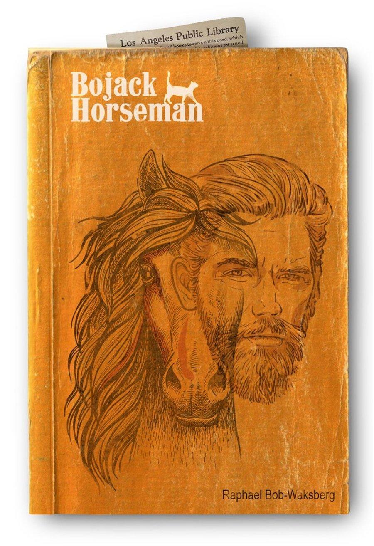 """Ilustración de """"Bojack Horseman"""""""""""