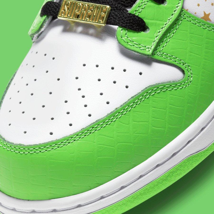 sneakers Supreme y Nike SB Dunk