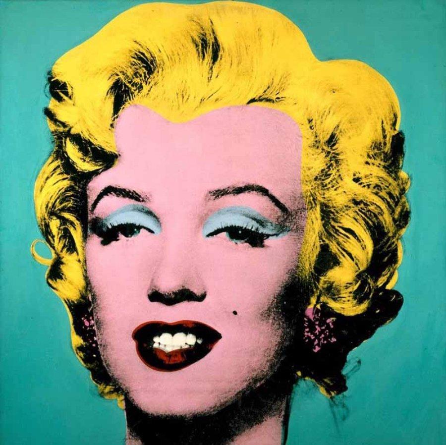 Pintura Marilyn Monroe por andy Warhol