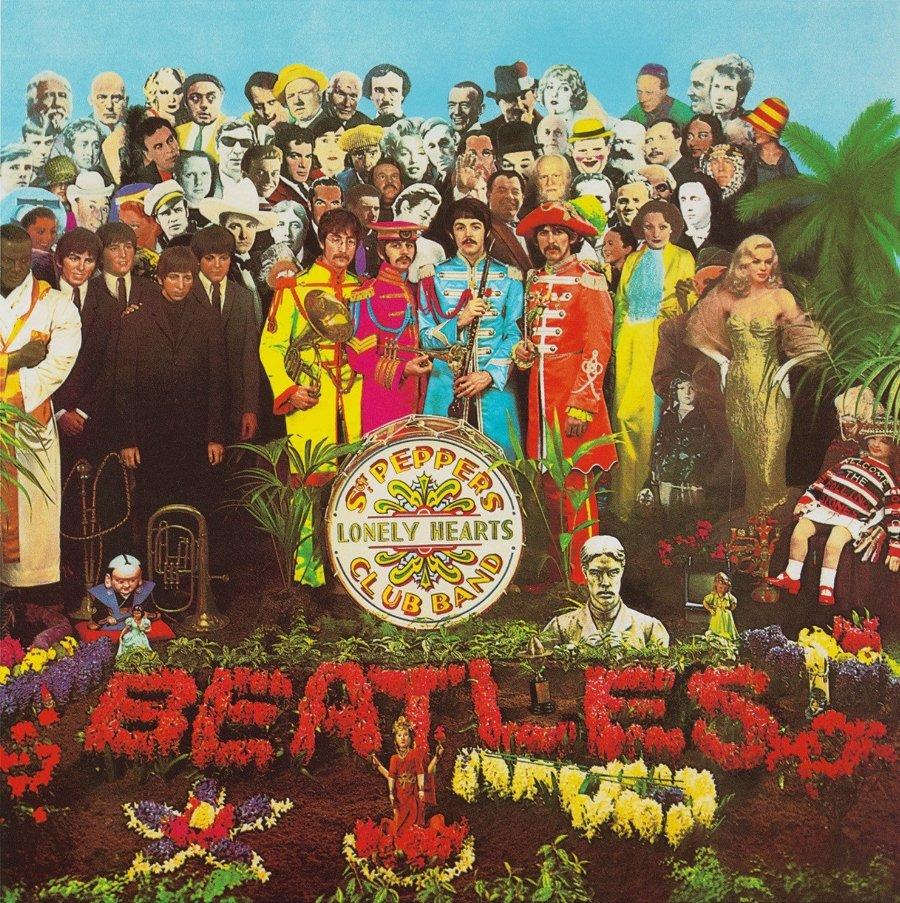 Portada de The Beatles pors Peter blake