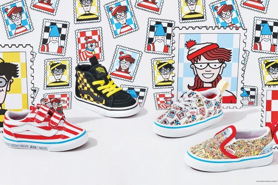 Nueva colección de vans x Where´s Waldo?