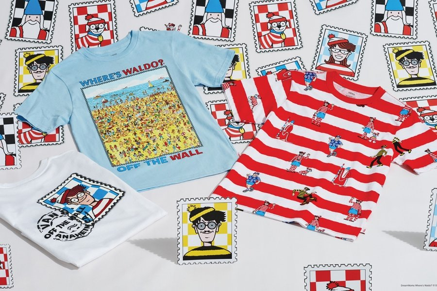 Nueva colección de vans con las ilustraciones de Where´s Waldo?