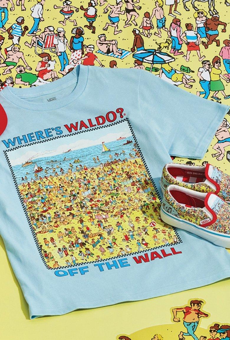 Vans x Where's Waldo? con nueva colección de ropa