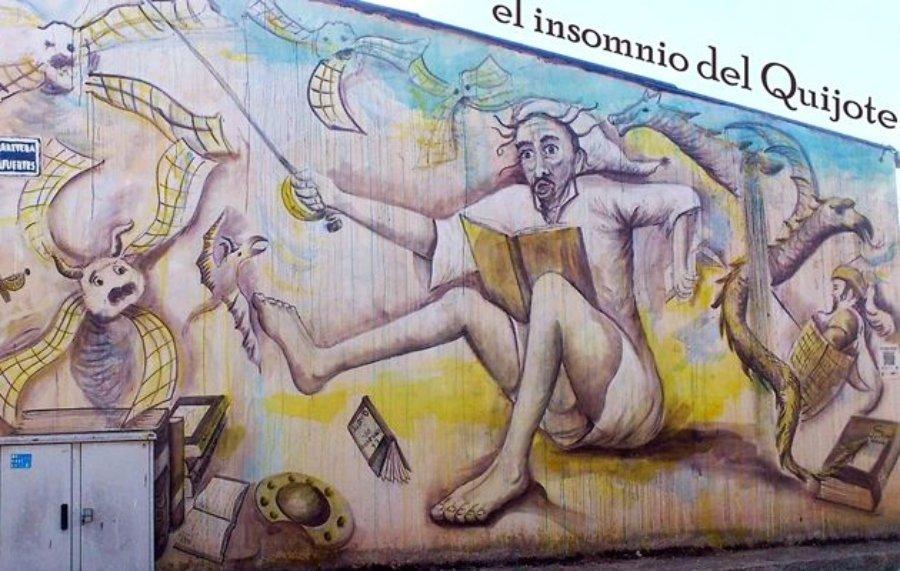El insomnio del Quijote' Miguel de Cervantes en Villangómez
