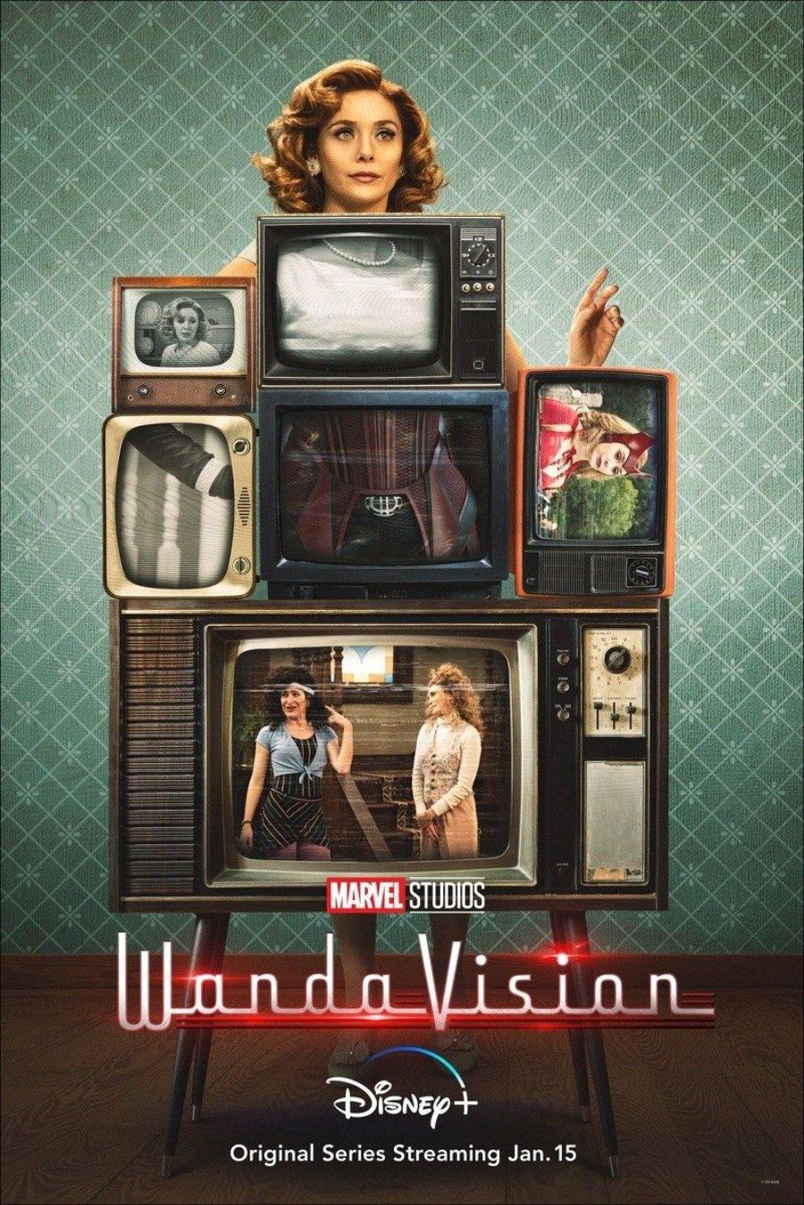 Poster promocional de la serie WandaVision
