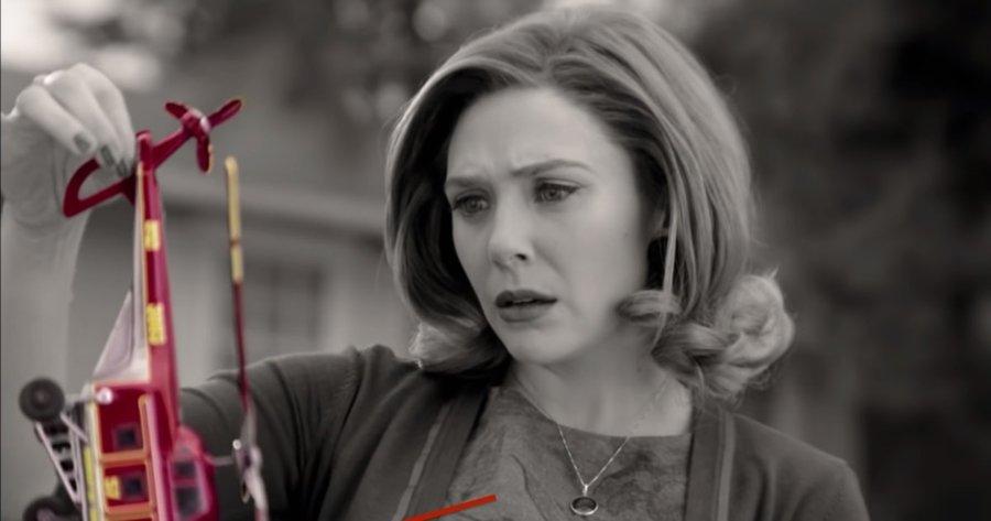 Escena del segundo episodio de WandaVision